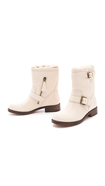 Marc by Marc Jacobs Sherpa Moto Booties