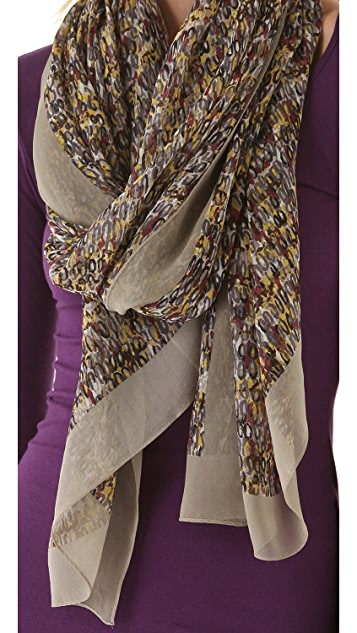 Marc by Marc Jacobs Georgie Tweed Scarf