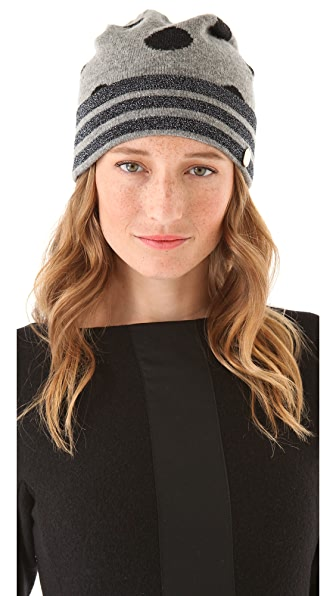 Marc by Marc Jacobs Clara Dot Sweater Hat