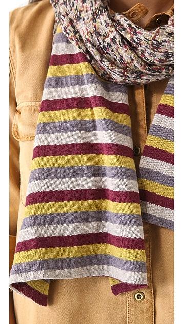Marc by Marc Jacobs Georgie Tweed Sweater Scarf