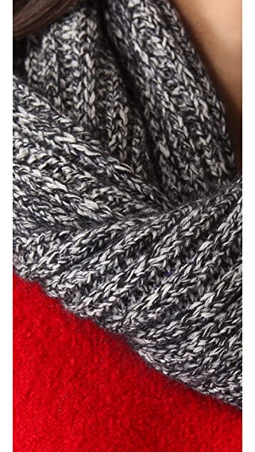 Marc by Marc Jacobs Margot Sweater Collar Scarf