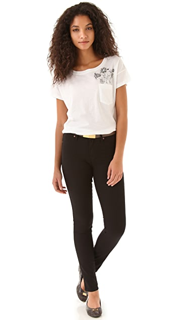 Marc by Marc Jacobs Blossom Pocket Tee