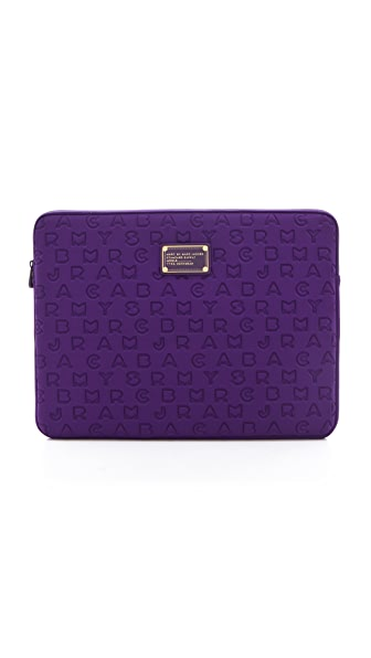 "Marc by Marc Jacobs Dreamy Logo Neoprene 15"" Computer Case"