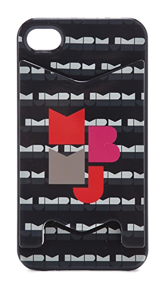 Marc by Marc Jacobs MBMJ Graphic iPhone 4 Case with Card Holder
