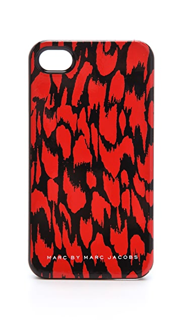 Marc by Marc Jacobs Graphic Animal iPhone 4 Case