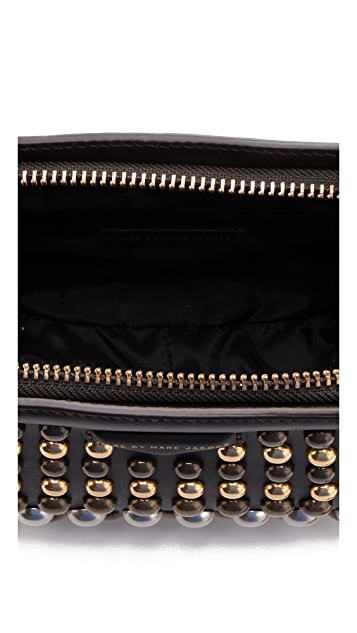 Marc by Marc Jacobs Thunderdome Studded Clutch