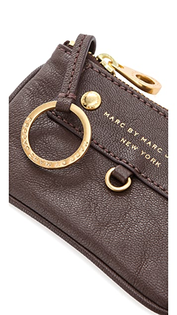 Marc by Marc Jacobs Preppy Leather Key Pouch