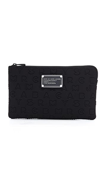Marc by Marc Jacobs Dreamy Logo Pouch