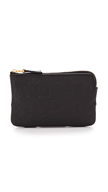 Marc by Marc Jacobs Dreamy Logo Key Pouch