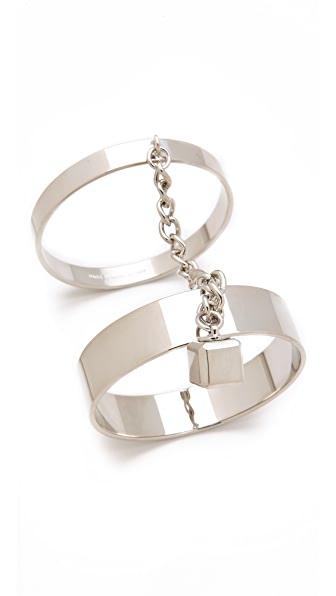 Marc by Marc Jacobs Collars & Cuffs Double Threat Bangles