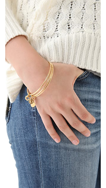 Marc by Marc Jacobs Set of 3 Mini Links Classic Icons Bangles