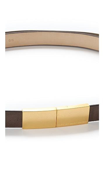 Marc by Marc Jacobs Push Lock Belt