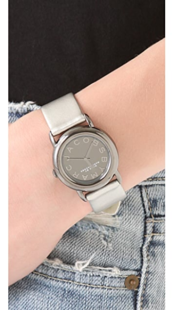 Marc by Marc Jacobs Marci Mirror Leather Watch