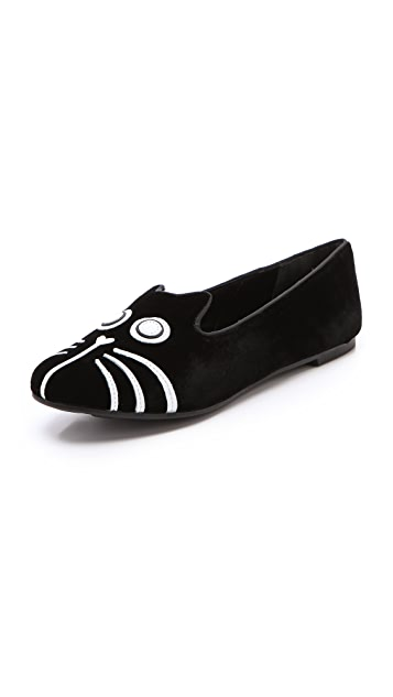 Marc by Marc Jacobs Mia Cat Face Loafers
