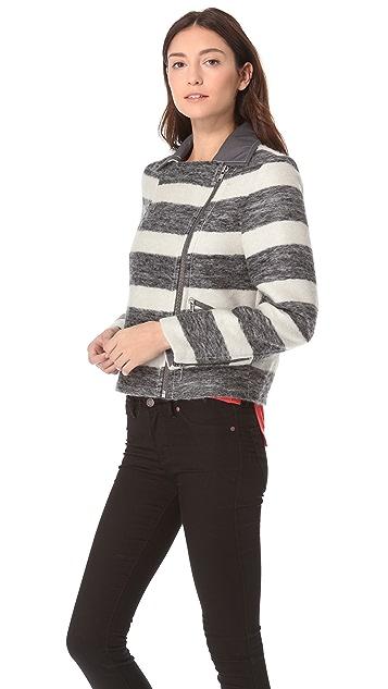 Marc by Marc Jacobs Oda Mae Striped Jacket