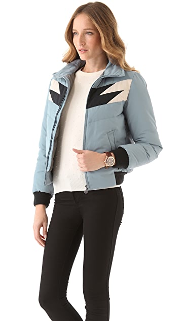 Marc by Marc Jacobs Powell Puffer Jacket with Hood