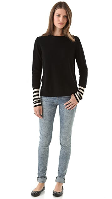 Marc by Marc Jacobs Zag Cashmere Sweater