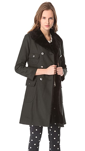 Marc by Marc Jacobs Oaks Belted Long Coat