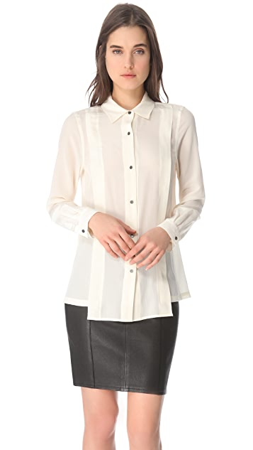 Marc by Marc Jacobs Mariko Button Blouse