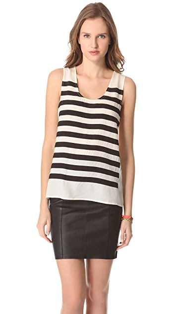 Marc by Marc Jacobs Harper Chiffon Sleeveless Top