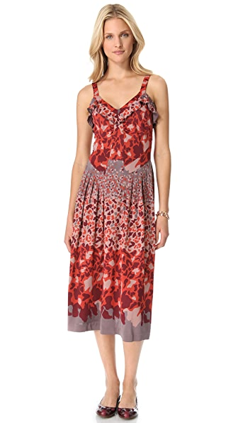 Marc by Marc Jacobs Camo Garden Jersey Dress
