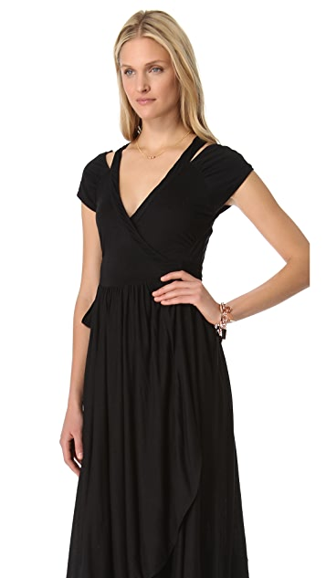 Marc by Marc Jacobs Keely Jersey Tie Back Dress