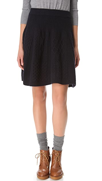 Marc by Marc Jacobs Glenda Cable Skirt