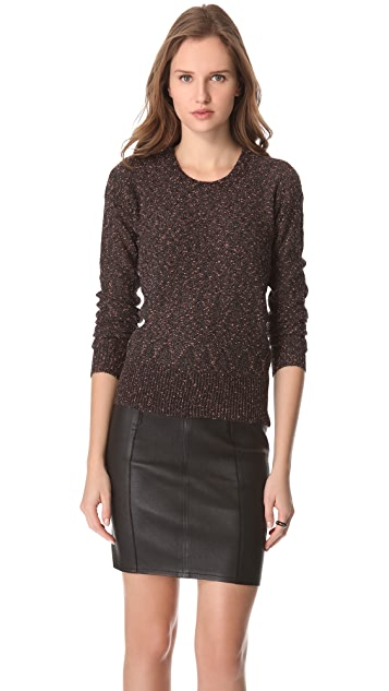 Marc by Marc Jacobs Sparkle Tweed Sweater