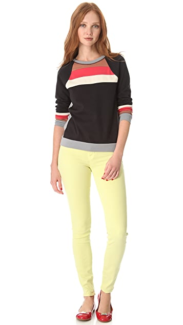 Marc by Marc Jacobs Carrie Colorblock Jersey Top