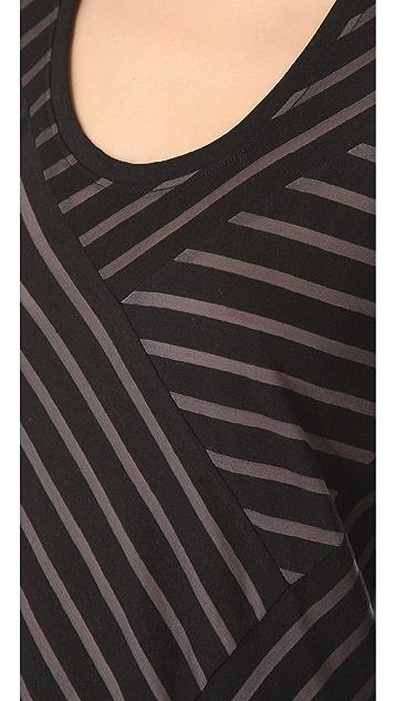 Marc by Marc Jacobs Smith Stripe Jersey Dress