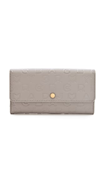 Marc by Marc Jacobs New Long Trifold Wallet