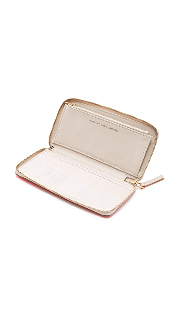 Marc by Marc Jacobs Sophisticato Slim Wallet