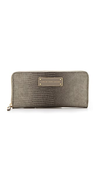 Marc by Marc Jacobs Take Me Embo Lizzie Slim Zip Around Wallet