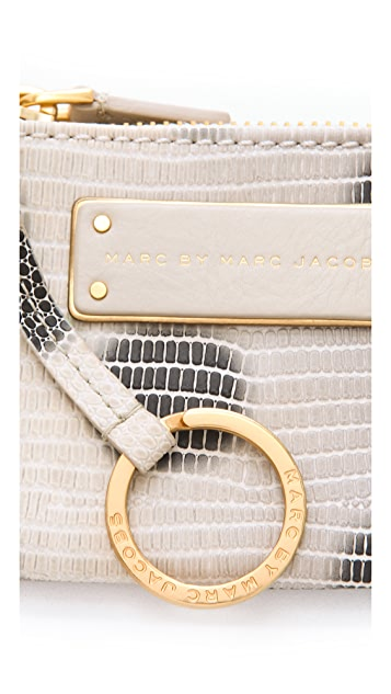 Marc by Marc Jacobs Take Me Embo Lizzie Dots Key Pouch