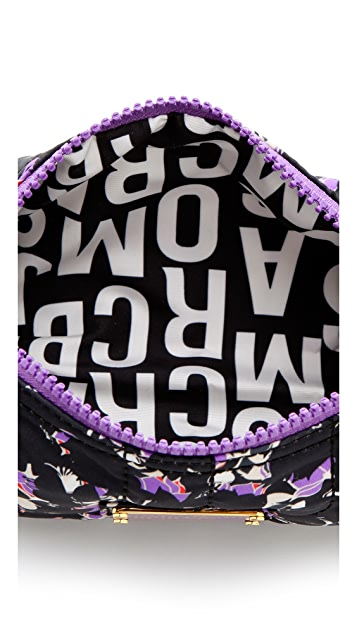 Marc by Marc Jacobs Pretty Nylon Printed Narrow Cosmetic Case