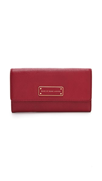 Marc by Marc Jacobs Too Hot To Handle New Long Trifold Wallet