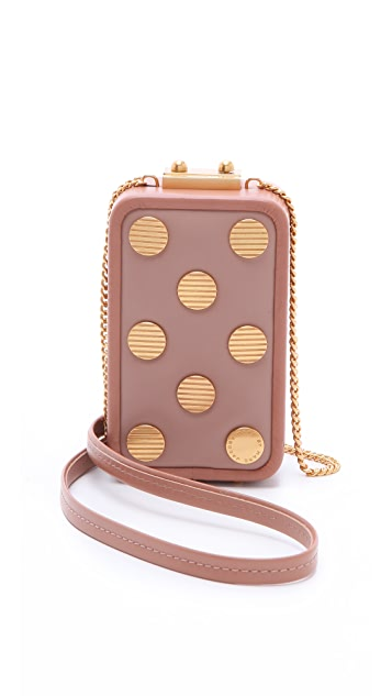 Marc by Marc Jacobs Dots Phone Box Bag
