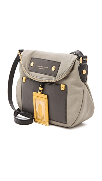 Marc by Marc Jacobs Preppy Leather Colorblocked Natasha Bag