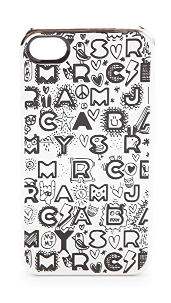 Marc by Marc Jacobs Dreamy Graffiti iPhone Case