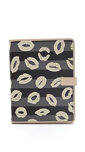 Marc by Marc Jacobs Eazy Tech Stripey Lips Tablet Cover