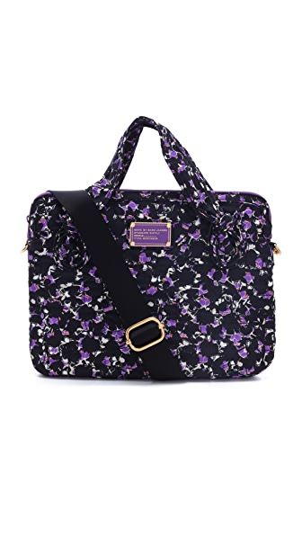 "Marc by Marc Jacobs Pretty Nylon Printed 13"" Computer Commuter Bag"