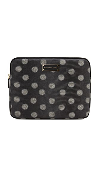 "Marc by Marc Jacobs Take Me Embo Lizzie Dots 13"" Computer Case"