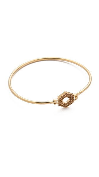 Marc by Marc Jacobs Skinny Pave Bolt Bracelet