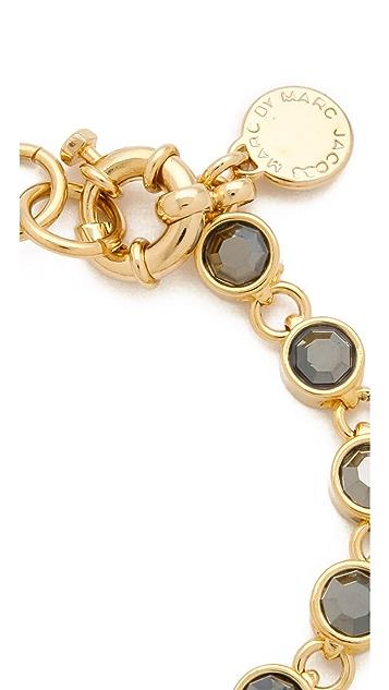 Marc by Marc Jacobs Polka Dot Bow Jeweled Bracelet