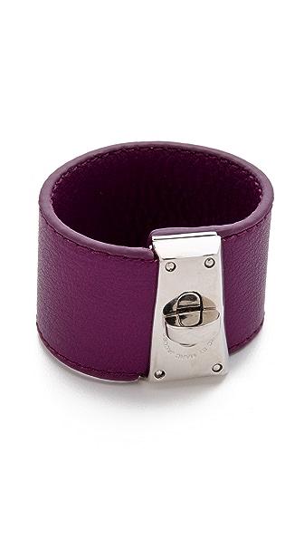 Marc by Marc Jacobs Intergalocktic Leather Bracelet