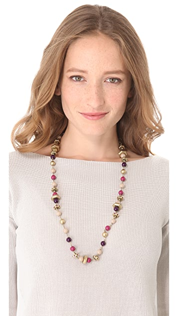 Marc by Marc Jacobs Bolts Galore Long Necklace