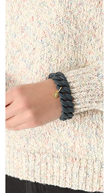 Marc by Marc Jacobs Lizard Embossed Rubber Katie Bracelet