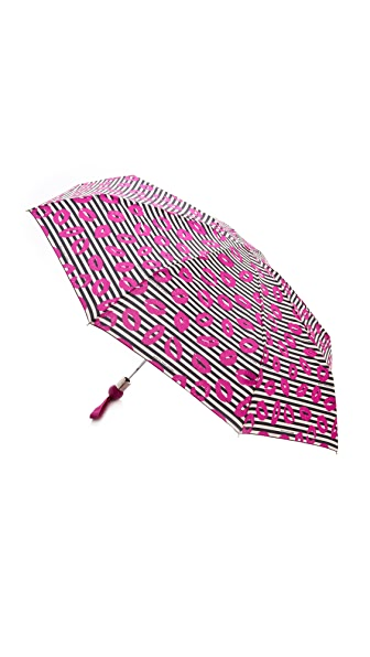 Marc by Marc Jacobs Skinny Stripey Lips Umbrella