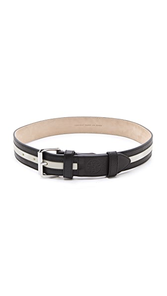 Marc by Marc Jacobs Striped Classic Belt