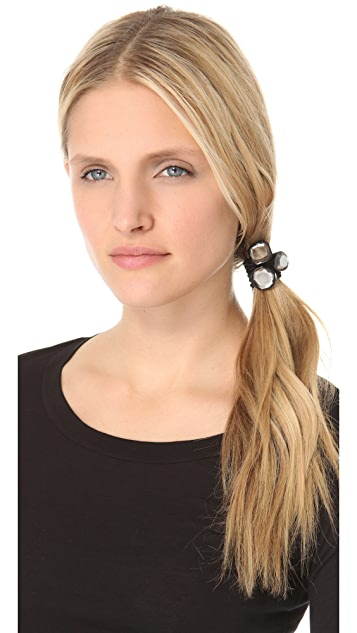 Marc by Marc Jacobs Jeweled Curb Pony Tie Set